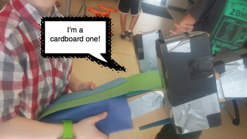 cardboard one